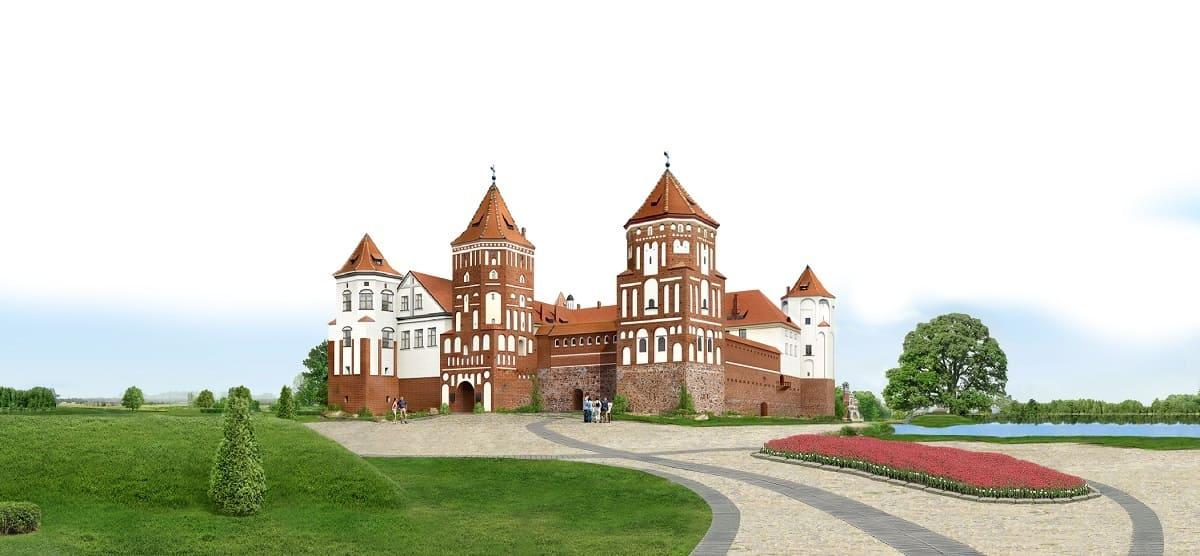 Мирский замок. Белоруссия. Компания Днепр-Море.