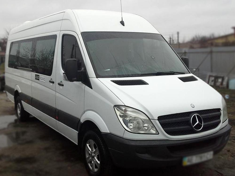 Заказать микроавтобус на сегодняMercedes-Benz 315 Extra Long (белый). Компания Днепр-Море.