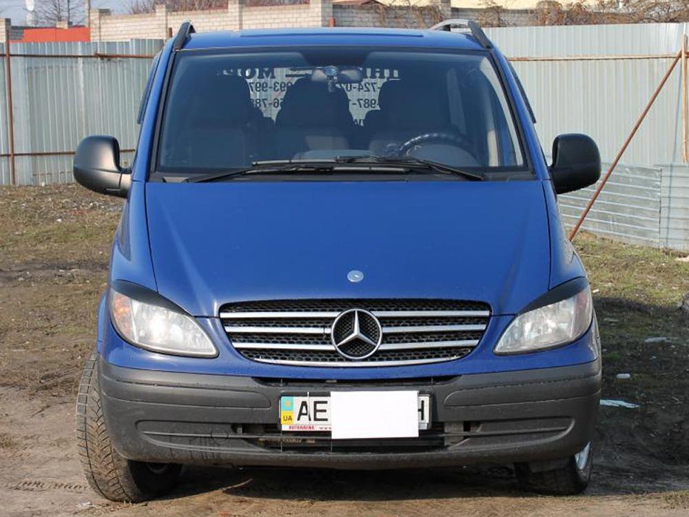 Заказать микроавтобус на сейчас. Mercedes-Benz Vito 115. Компания Днепр-Море.
