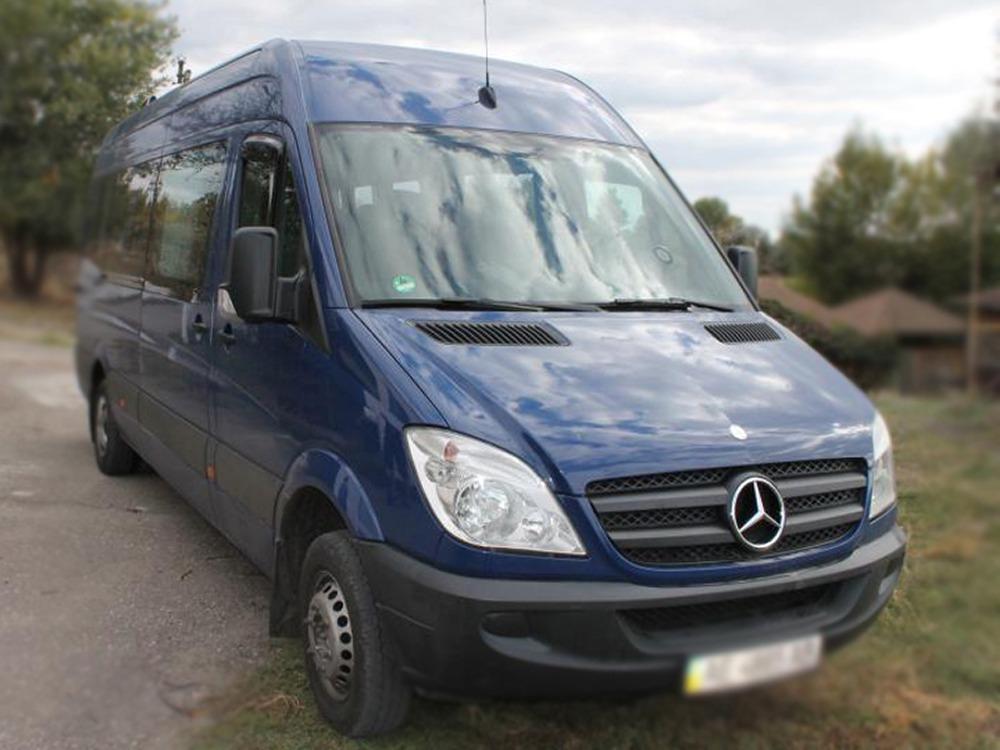 Заказать микроавтобус Mercedes-Benz Sprinter 513. Компания Днепр-Море.