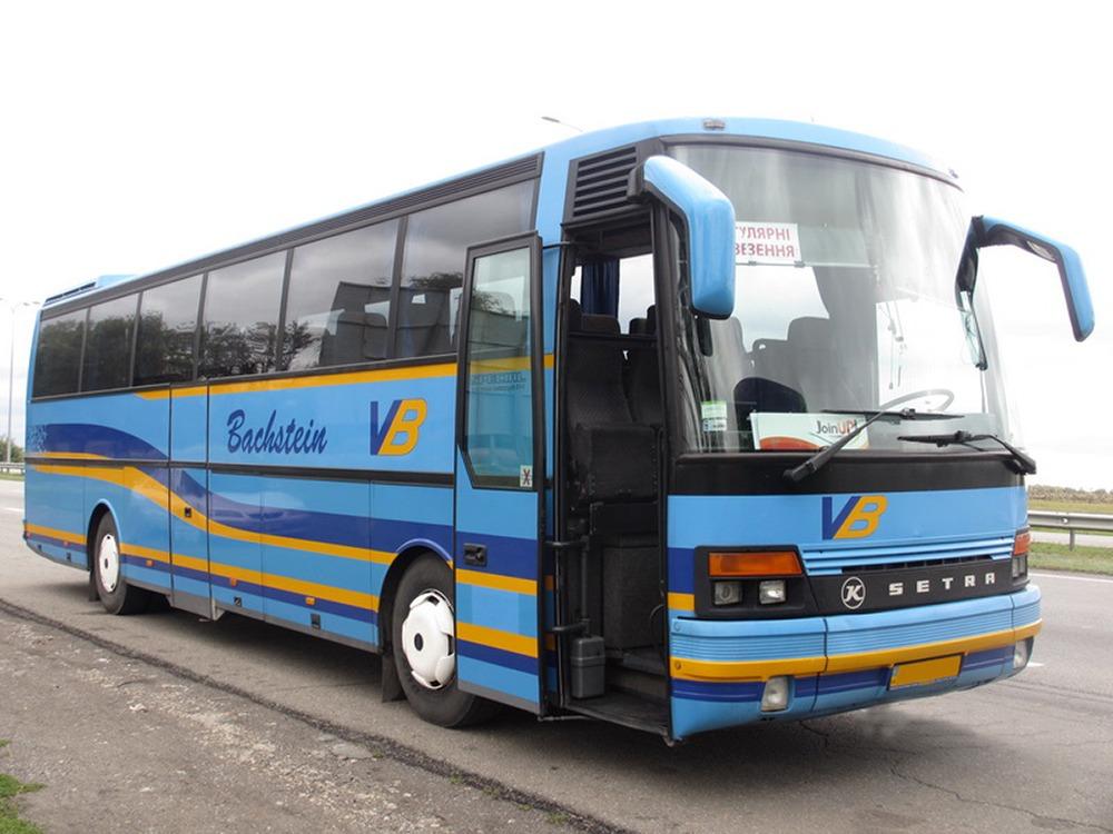 Заказать автобус на сейчас Setra S250. Компания Днепр-Море.