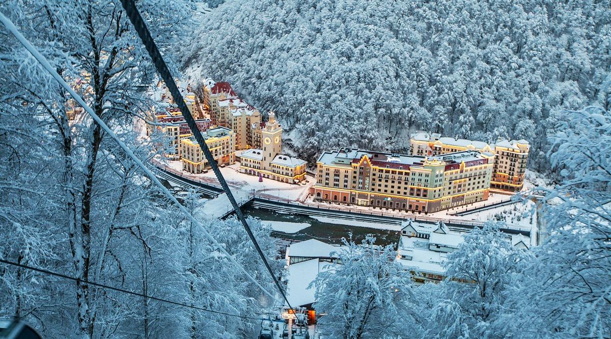 Выгодные поездки на горнолыжные курорты России с компанией Днепр-Море.