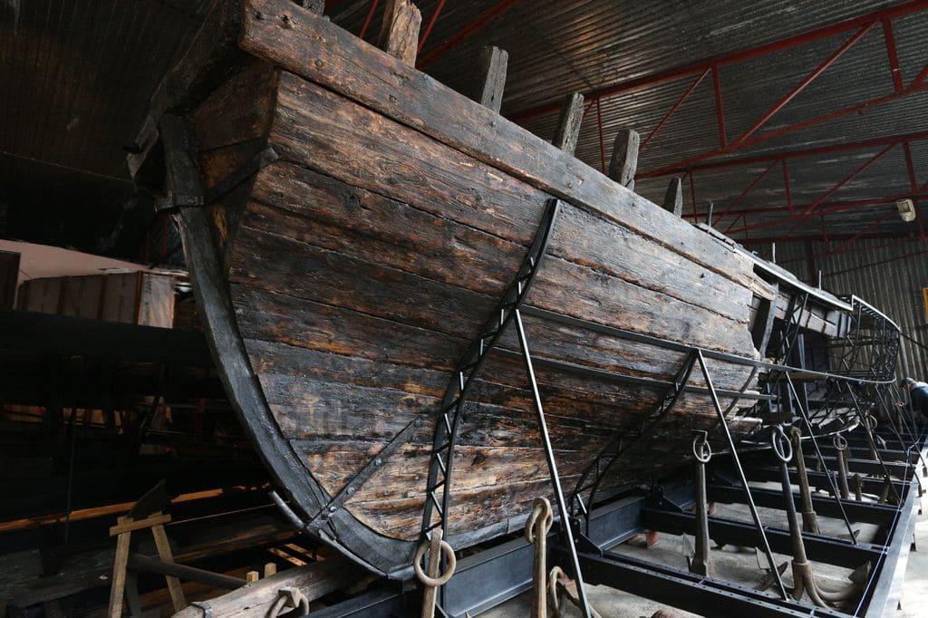 Музей судоходства «Чайка» на острове Хортица