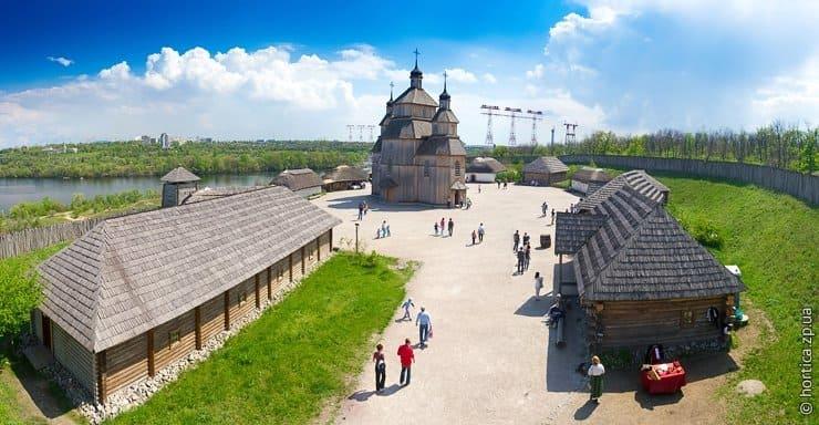 Обзорная экскурсия «Запорожская Сечь» с компанией Днепр-Море