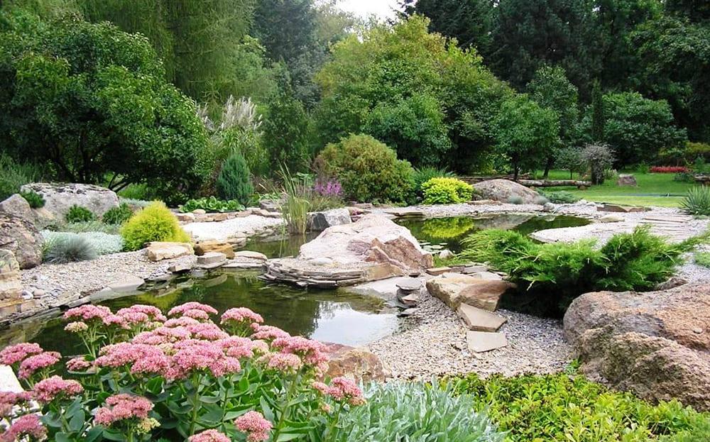 Харьковский ботанический сад - компания Днепр-Море