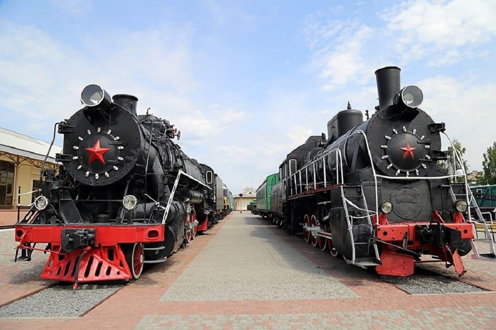 Экскурсия в музей истории и железнодорожной техники г. Харьков. Компания Днепр-Море