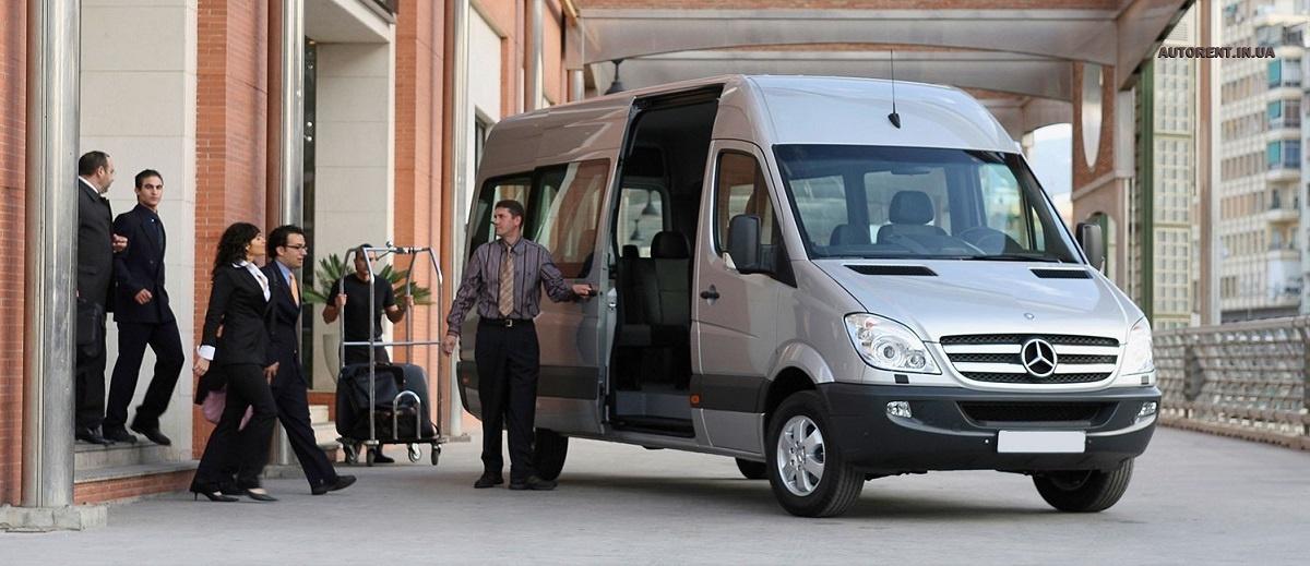 Аренда микроавтобуса, минивэна, автобуса . Днепр-Море