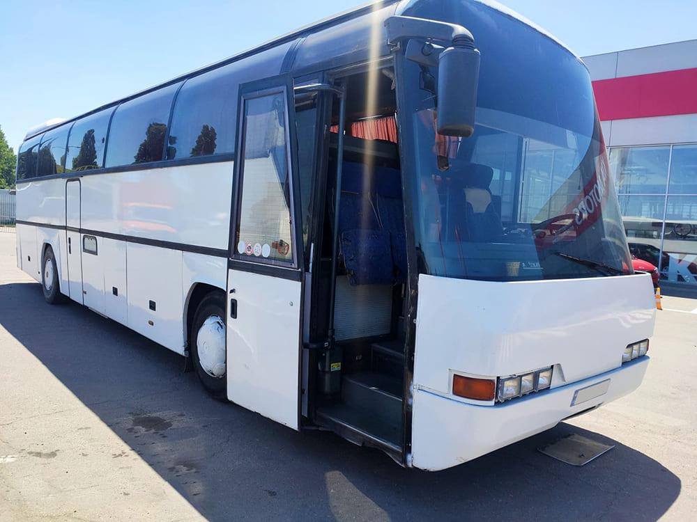 Заказ автобуса. Днепр-Море