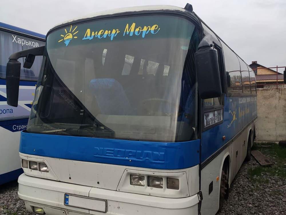 Автобус Геническ. Днепр-Море