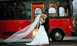 Аренда автобуса для свадьбы